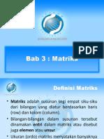 Bab 3(1) Matriks