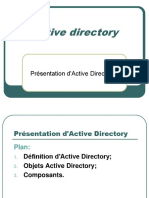 1- Présentation DActive Directory