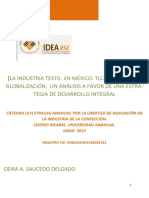 la industria textil en méxico