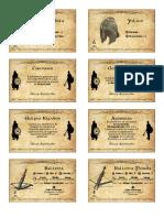 El Anillo Unico - Cartas Hoja 05