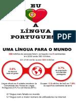 Eu amo a língua portuguesa