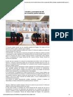 24/09/2019 Firman el gobernador Héctor Astudillo y presidente del INE Lorenzo Córdova, convenio para actualizar padrón electoral