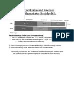 Möglichkeiten und Grenzen steuerfinanzierter Sozialpolitik