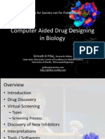 Computer Aided Drug Designing in Biology - VIT