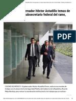 24/09/2019 Gobernador Héctor Astudillo Temas de Seguridad Con Subsecretario Federal Del Ramo, Ricardo Mejía