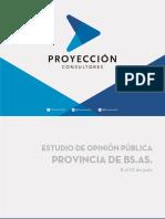 Encuesta Proyección Consultora
