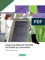 Cahier Leçons de Base de CQ Au Laboratoire2010