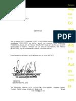 certificado sandra