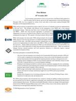 Press release_aid effectiveness to development effectiveness