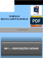 11 Normas Regulamentadoras (1 a 3)