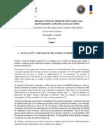 PRODUCCIÓN DE BIOETANOL A PARTIR DE ALMIDÓN DE MAÍZ USANDO COMO MICROORGANISMO FERMENTATIVO LA BACTERIA ZYMOMONAS MOBILIS (AVANCE III)