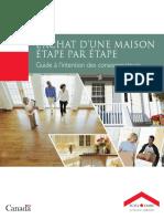 Lachat Dune Maison Etape Par Etape SCHL