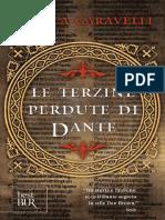 Garavelli_Le_terzine_perdute_di Dante