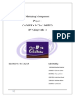 CADBURY INDIA- R1(GROUP-6)