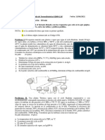 3ra PC de Termo II 2021-I