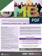 Convocatoria Universidad Mexiquense del Bicentenario Teoloyucan 2021