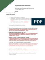 Documentos Necessarios Para Processos de Outorga - ATERPA