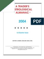 1st Quarter 2004 Almanac