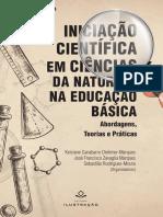 Livro Iniciação Científica Em Ciências Da Natureza Na Educação Básica