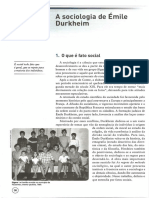 A Sociologia de Emile Durkheim_Cristina-Costa