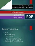 Session 9_ Market testing