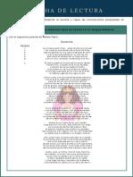 Figuras retóricas poema Sonatina - 9º grado