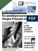 Le Déchainé n° 1 - un antidépresseur pour chaque français en 2008 ?