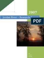 Jordan River – Research Report
