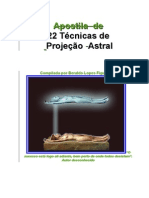 Apostila - 22 Tecnicas Projeção Astral