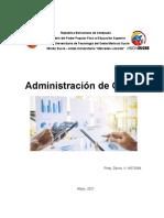 ADMINISTRACION DE COSTOS. DEIVIS PINTO