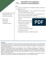 13MARZO PRESENTASIÓN DE ASIGNATURA