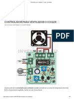 Controlador para ventilador o cooler _ Inventable