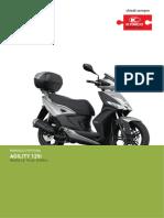 Manuale officina Agility 125iR16-E4