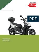 Manuale officina Agility 150iR16-ABS E4