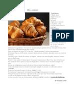 Isticioaia Larisa- Pâte à croissants