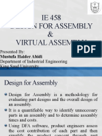 IE 458-Design for Assembly