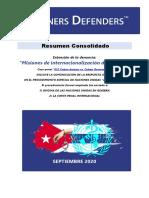 ESP - Briefing of the Case 622 Cuban doctors vs. Cuban Government - ICC&UN