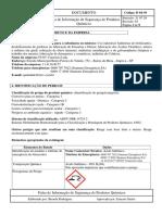 D04-30 FISPQ Do Acido Sulfurico 98% REV. 3