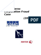 xerox finantial scandal essay Accounting scandal: xerox xerox corporation is the world's leading supplier in the field of photocopy inks and supplies in 2002, securities and exchange submitted a complaint against xerox.