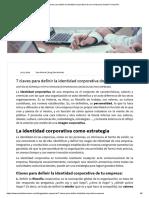 7 claves para definir la identidad corporativa de una empresa _ Deusto Formación
