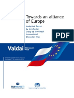 Towards an alliance of Europe