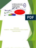 Unidad X - Efectos Económicos de Los Aspectos Organizacionales