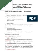 examen parcial de caracterizacion estatica de yacimientos