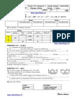 Controle 1 . 1 S1 3AC Inter (Www.adrarPhysic.fr) (1)