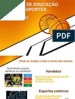 60 JOGOS DE EDUCAÇÃO FÍSICA E ESPORTES