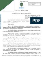 Decreto do governo de Rondônia sobre medidas restritivas contra Covid-19