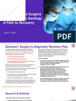 Surgery and Diagnostic Report