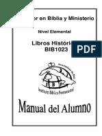 BIB1023 Libros Históricos - MA