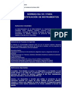 Material Complementario normas isa s5.1
