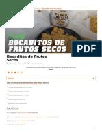 Bocaditos de Frutos Secos_ Cacahuete + Dátiles + Pipas de Girasol, Chía...